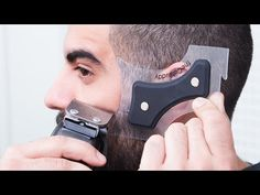 The Cut Buddy | Hair and Beard Grooming Guide Tool. Does your hairline look this sharp?