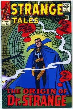 The Doctor Strange Custom Covers Project - Strange Tales #115