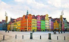 Les villes et villages les plus colorés
