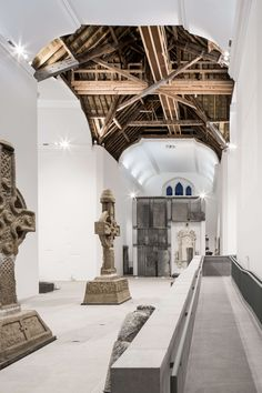 Image 1 of 31 from gallery of Medieval Mile Museum Kilkenny Ireland / Mccullough Mulvin Architects. Photograph by Christian Richters Architecture Renovation, Museum Architecture, Architecture Details, Architecture Ireland, Computer Architecture, Building Renovation, Cultural Architecture, Architecture Awards, Architect Jobs