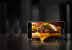 McDonald's Mobile App on Behance Food Design, Food Graphic Design, Mcdonalds, Food Advertising, Creative Advertising, Advertising Design, Healthy Snacks For Diabetics, Healthy Food, Recipe From Scratch