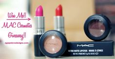 Agape Love Designs: Red Lipstick & Champagne Dreams Feature   MAC Makeup Giveaway
