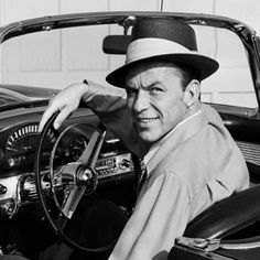 Frank Worth - Frank Sinatra in Tbird, Photograph