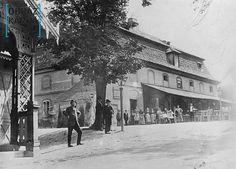 Výletní hostinec Kravín /kol.1890, Královské Vinohrady/