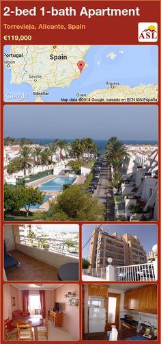 2-bed 1-bath Apartment in Torrevieja, Alicante, Spain ►€119,000 #PropertyForSaleInSpain