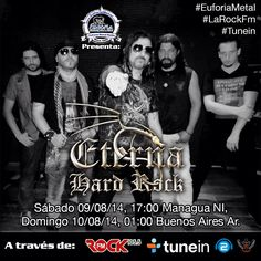 Como escucharnos:  #EuforiaMetal Radio #LaRockFM @TuneIn #RealRadio  http://tunein.com/radio/Euforia-Metal-Radio-s129069/  http://www.euforiametalradio.listen2myradio.com  http://www.euforiametal.com  http://91.121.134.23:8001/euforiametal.mp3   http://91.121.134.23:8000/euforiametal.mp3  http://83.142.226.45:8866  105.5 FM En Nicaragua www.larockfm.com