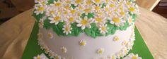 Papatya Konseptli Pasta ( daisy cake )