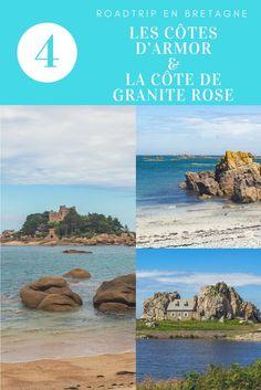 Suite et fin de notre roadtrip en Bretagne, avec la découverte des côtes d'Armor et la fameuse côte de granit rose