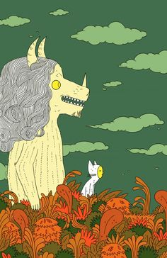Maurice Sendak tribute by Michael DeForge