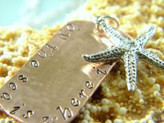 {simple starfish} jewelry - by the sea starfish necklace, $65.00 (http://www.simplestarfish.com/by-the-sea-starfish-necklace/)