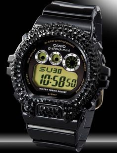 Casio G-Shock Watch with Crystals (Limited Edition)