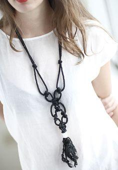 necklace simplify a lit bit