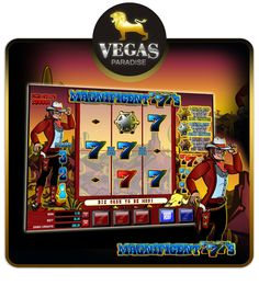 Start playing Magnificent 777's, the latest 3-reel, single pay line slot from Vegas Paradise. This fruit machine offers players straightforward action and excitement. So experience the Vegas now