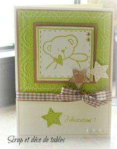 Baby Shower Cards, Baby Cards, Tedy Bear, Welcome Card, Congratulations Baby, Stamping Up, Handmade Baby, Kids Cards, Scrapbook Cards