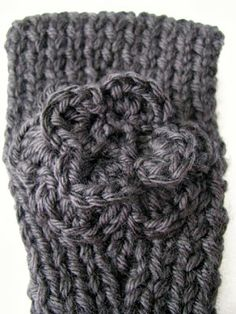 Knitted Headband free pattern and tutorial