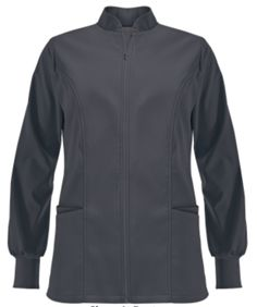 Advantage STRETCH by Butter-Soft™ Zip Front Jacket Style # AB883 Warm up in our comfortable athletic scrub jacket! Featuring soft, stretchy fabric and a front zipper with rib cuffs, you will never have to freeze in the office again. #UniformAdvantage #UAscrubs #ADayInScrubs #ButterSoftScrubs #ScrubJackets #Nurse