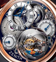 Charting a course towards the exceptional ZENITH ACADEMY Christophe Colomb Hurricane Grand Voyage (See more at: http://watchmobile7.com/articles/zenith-academy-christophe-colomb-hurricane-grand-voyage) (4/8) #watches #zenith #zenithwatches