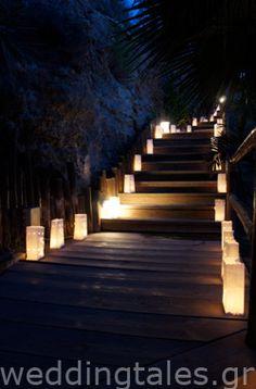Ένας ρομαντικός διάδρομος - για τα πρώτα σας βήματα σαν νιόπαντροι