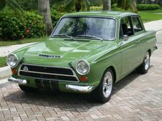 Stunningly beautiful MkI Cortina Classic Cars British, Ford Classic Cars, British Car, Retro Cars, Vintage Cars, Ford Anglia, Aussie Muscle Cars, 1964 Ford, Toyota