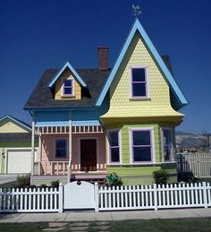 """The house from """"UP"""" in real life...makes me smile :)"""