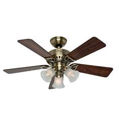 Ceiling Fan with Light idea for upstairs den