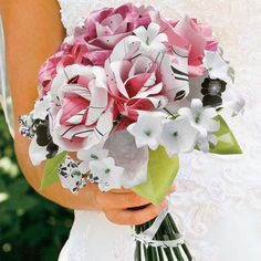 Lets see those DIY paper flowers! :  wedding paper flowers Paper Flower Bouquet