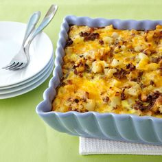 Sausage-Hash Brown Breakfast Casserole Recipe | MyRecipes.com