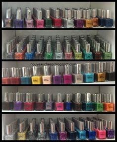 Nouveau Cheap: Pure Ice Nail Polish: 55 new colors (bottle shots and macros)