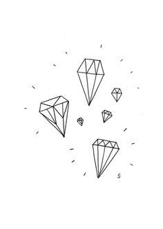 #diamonds painted - pretty, too