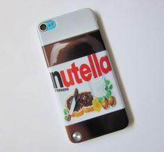 Nuevo-Nutella-Chocolate-rigida-posterior-Funda-Protectora-Ipod-Touch-5-5th-Generacion