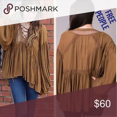 😃FREE PEOPLE gingersnap top NWT size SMALL 😃 😃FREE PEOPLE gingersnap top NWT size SMALL 😃 Free People Tops Blouses