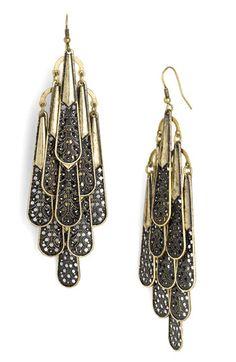 Alexia Crawford Filigree Drop Earrings $10 #nordstroms