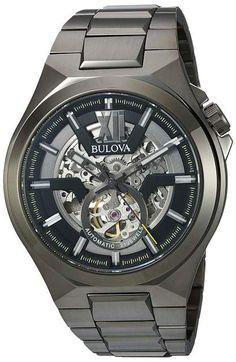 3bc0ddb8844 Bulova - Automatic - 98A179 Watches. Bulova automatic watch Bulova Mens  Watches