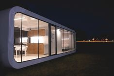 Contemporary Mobile Home Tribute to Peaceful Living: Elegant Coodo Modular Units