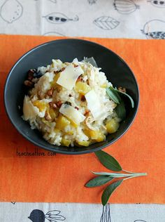 Easy Butternut Squash and Chicken Risotto cooked in oven? Chicken Couscous, Chicken Risotto, Chicken And Butternut Squash, Cook N, Baby Food Recipes, Free Recipes, Main Meals, Vegetable Recipes, Family Meals
