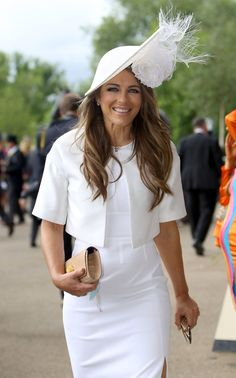 Elizabeth Hurley at Day Two of Royal Ascot, 15 June 2016                                                                                                                                                                                 More