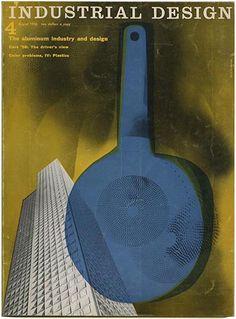 Jane Fisk Mitarachi [Editor]: INDUSTRIAL DESIGN. New York: Whitney Publications, Inc., Volume 3, Number 4, August 1956.