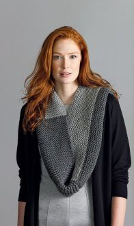 Lion's Pride® Woolspun® Knit Cowl (Level 1)