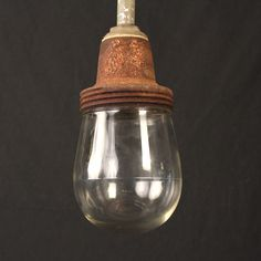 Benjamin Industrial Pendant with Glass Globe
