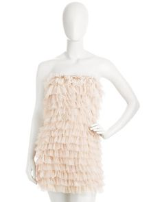 Tiered Ruffle Dress by Haute Hippie at Last Call by Neiman Marcus.