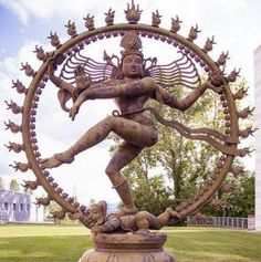 A particle physicist sees the footprints of Dancing Shiva in images of annihilation and creation at nature's heart. Click http://www.stevefinegan.com/shivas-footprints/ to read SHIVA'S FOOTPRINTS, a 100-word story. New story every Wednesday. #drabbles