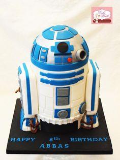 The Ultimate Star Wars R2D2 Cake - Cake by Cakewalkuae