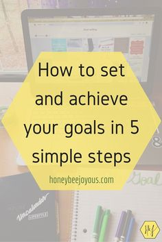 Setting goals you can actually achieve is easier said than done. Luckily, you only have to follow these 5 simple steps to set and achieve awesome goals.