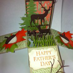 Father's Day Card in a Box.