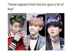 Rap monster , j-hope & suga ❤