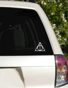 Deathly Hallows Decal Harry Potter Symbol Decal car by FandomAlley