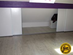 Attic Bedroom Storage, Attic Bedrooms, Attic Renovation, Bungalow, Entryway Tables, Sweet Home, Interior Design, Furniture, Dressings