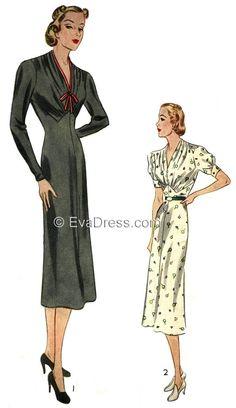 1937 Dress, D30-9079