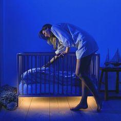 Unterbodenbeleutung für's Babybett