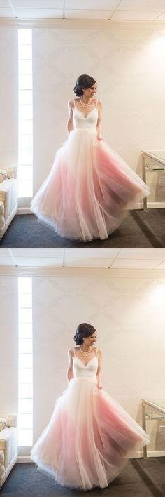 Modest Bridal Dress,Tulle Prom Dress,Custom Made Evening Dress by MeetBeauty, $174.68 USD